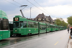 2016-05-18, Basel, Birsigviadukt (Fototak) Tags: switzerland tram basel strassenbahn schindler bvb ffa 675 1459 ligne14 guggummere