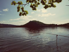 early morning fishing at loch lomond (soulfulpoignant) Tags: camping summer lake water scotland fishing sunny loch lomond lochlomond