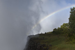 the imminent and the aftermath (timsnell) Tags: africa sky cloud mist nature water rain landscape waterfall rainbow zimbabwe victoriafalls matabelelandnorth
