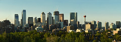 Calgary evening skyline (Surrealplaces) Tags: canada calgary skyline evening cityscape alberta