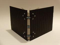 Ravens Foot Binding (ArcticCoyote) Tags: art paper bookbinding bookmaking handmadebooks