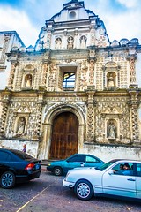 The cathedral in Quetzaltenango.
