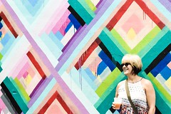(Janella Lopez) Tags: colorful portrait grafitti wynwood beer color geometrical