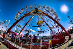 Iisalmi (Tuomo Lindfors) Tags: carnival sun suomi finland tivoli fisheye ferriswheel adjust giantwheel aurinko iisalmi maailmanpyr restyle sariola topazlabs club16 luuniemi luuniementapahtumakentt