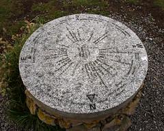 Day 6 02 Mull of Galloway compass points stone (bob watt) Tags: uk june canon scotland 7d 2016 mullofgalloway 18135mm canoneos7d kirkcudbrightholidayjune2016