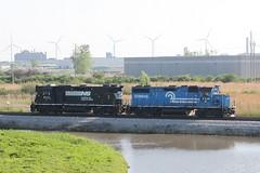 Conrail Blue (Aussie foamer) Tags: 5338 8171 gp382 emd conrail ns norfolksouthern buffalo newyork america train railroad railway locomotive
