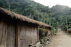 32-248 (ndpa / s. lundeen, archivist) Tags: china road houses homes winter people house mountains color building fall film home rural 35mm buildings village nick chinese taiwan hills dirtroad thatchedroof 1970s 1972 hualien 32 taiwanese eastcoast unidentified dewolf rurallife thatchroof republicofchina easterncoast easterntaiwan nickdewolf photographbynickdewolf hualiencounty reel32
