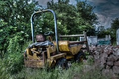 In dire need of repair (alsimages1 - Thank you for 860.000 PAGE VIEWS) Tags: road park old truck countryside site tipper rustic soil lorry works rusting wreck remains wreckage rubble landfill fill dumper corroding