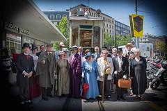 Members of Sherlock Holmes Society of London and Societe d'etudes holmesiennede la  Swiss romande (Fondation Martin Bodmer)