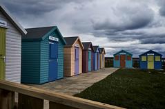 Amble (kendo1938) Tags: amble northumberland england gb beachhuts clouds amblebythesea littleshoreamble littleshore