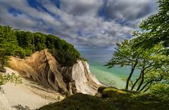 Møns klint, Moens Cliff (ibjfoto) Tags: sea cliff water sunrise landscape denmark outdoor natur balticsea zealand danmark hav klint landskab mønsklint østersøen moenscliff ibjensen ibjfoto