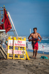 Oceanside Lifeguards (EthnoScape) Tags: oceanside california cityofoceansidelifeguard lifeguards oceansidelifeguard oceansidelifeguards training trainer assistance drown drowning surf surfer surfboard lifesaver lifesavers rescue rescuer rescuetube rookie swim swimming swimmer swimmers athlete athletic health fitness youth boardshorts bikini wetsuit neoprene lycra rubber fiberglass polyurethane danger riptide ripcurrent red yellow baywatch fins swimfins tower lifeguardtower beach shore ocean water safety tourist touristseason jetskisummerethnoscapeethnoscape imagery outdoor