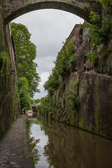 Cutting Through The City (ClydeHouse) Tags: canal shropshireunioncanal chester cutting byandrew