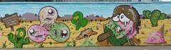 Graffiti art, Chalk Farm, London, 22 June 2016 (rupertcheek) Tags: uk london art graffiti artist camden camdenmarket arts visual camdentown chalkfarm