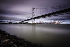 The Three Bridges (Fifescoob) Tags: southqueensferry portedgar bridges construction scotland fife edinburgh forth engineering canon