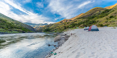 Salmon River - Off The Grid (JarrodLopiccolo) Tags: salmon river salmonriver idaho rafting camping tent clouds sky mountains