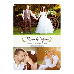 (Elegant Laurels Wedding Thank You Photo Flat Card) #Classic, #Cream, #Elegant, #ElegantWedding, #Ivory, #Laurel, #Laurels, #Modern, #ModernWeddingThankYou, #Multiple, #Photo, #Photos, #Simple, #ThankYou, #Wedding, #WeddingPhotoThankYou, #WeddingThankYou (CustomWeddingInvitations) Tags: elegant laurels wedding thank you photo flat card classic cream elegantwedding ivory laurel modern modernweddingthankyou multiple photos simple thankyou weddingphotothankyou weddingthankyou is available custom unique invitations store httpcustomweddinginvitationsringscakegownsanniversaryreceptionflowersgiftdressesshoesclothingaccessoriesinvitationsbinauralbeatsbrainwaveentrainmentcomelegantlaurelsweddingthankyouphotoflatcard weddinginvitation weddinginvitations