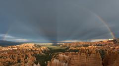 Rainbow & Hoodoos (ken.krach (kjkmep)) Tags: brycecanyonnationalpark