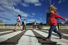 Going on a bear hunt (Francis Johns) Tags: pyrmontbridge darlingharbour sydney ricohgr