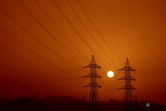 Energa Limpia @ Jovisur (jovisur) Tags: energa cabledealtatensin amanecer energialimpia sol maraadecables cables