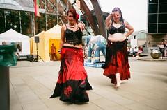 Sheffield Tramlines Festival (iampaulrus) Tags: photoexpresshull lomography lomo paulfargher paulfargherphotography 35mm film filmisnotdead colour color lca sheffield bellydancing exotic dancing ladies tramlines  analogue analog