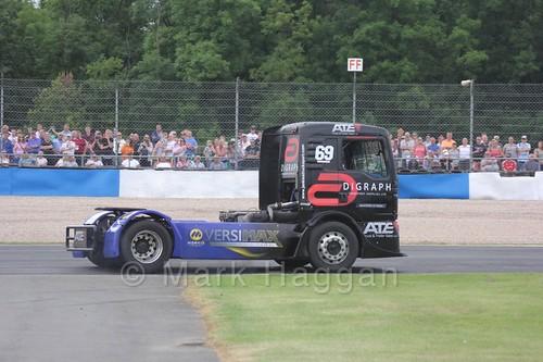 Truck Racing at Donington Park, July 2016