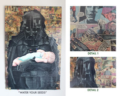"""""""Water Your Seeds"""" - 3ft H X 2ft W (DST TO INFINITY) (DST TO INFINITY) Tags: new baby art water comics hope for star back am official comic force infinity father luke attack battle seeds v revenge your darth return clones empire jedi dane wars trailer vader caravan phantom clone delectable iv strikes thompson sith episode menace skywalker courage pedigree the endor ewoks dst awakens a of"""