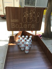 Mini Bolera y bolos
