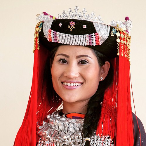 Just before I left Chiang Mai I was asked to make some impromptu portraits of some Hill Tribe families in their finery. This is just one of many that I will EVENTUALLY get posted at Lifepart2.com #travel #thailand