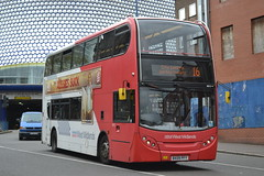 National Express West Midlands 4815 BX09PFY (Will Swain) Tags: city uk travel england west bus buses birmingham britain centre transport may national express 7th midland midlands 2015 4815 nxwm bx09pfy