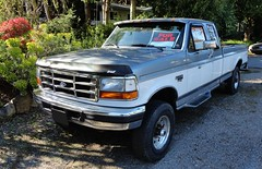 Ford F-250 XLT SuperCab 4X4 Pickup Truck (Custom_Cab) Tags: two ford up wheel truck four drive offroad 4x4 diesel cab 1996 4wd pickup super 1993 f ninth 1997 series 1992 1995 1994 pick 9th generation tone 250 supercab xlt f250 fseries powerstroke 19921997