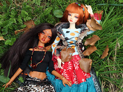 relaxing (wixanawiggova) Tags: forest doll african bjd ruby lenora odetta supia tanskin bjddoll minisup msdbjd withdoll supiadollz wixana