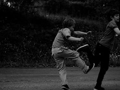 Free Fight (stefart61) Tags: life white black olympus and freefight oscarandsimon