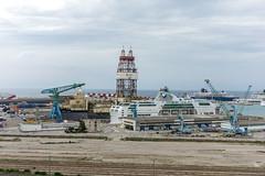 Bateau Forage ptrolier SAIPEM (Bernard Ddd) Tags: france port marseille bateaux forage saipem provencealpesctedazur tourcmacgm