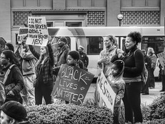 Black Lives Matter (5chw4r7z) Tags: ohio downtown cincinnati politics