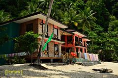 Pacman's beach house (lantaw.com) Tags: sea beach coastal tuka 2015 sarangani kiamba tukamarinepark