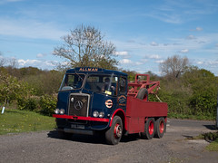 BRE 596D  1966  Atkinson Mk1 Silver Knight Recovery  Allman Transport  Rixton (wheelsnwings2007/Mike) Tags: road silver cheshire transport bre run 1966 knight recovery atkinson allman 2015 mk1 rixton 596d
