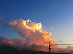 Ciclo de nubes (Pensamientos Photocatalticos) Tags: city morning travel sunset sky cloud nature clouds canon vintage atardecer colombia day afternoon good bogot hipster sunny ciudad adventure final cielo nubes end lovely 50 da nube tarde sx pereira soleado sx50