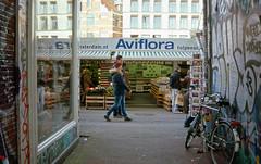 Aviflora (Arne Kuilman) Tags: film amsterdam scan flowermarket nikkormat bloemgracht ektar nikkormatel