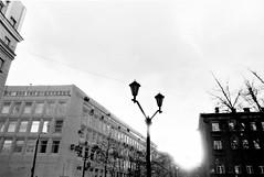 Its a dusk (suxarik) Tags: blackandwhite bw monochrome analog blackwhite pentax takumar russia spotmatic manual rodinal smc development manualfocus polypan polypanf