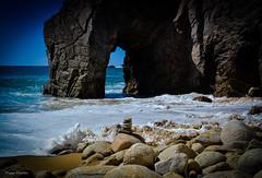 DSC_0253-2 (FlipperOo) Tags: voyage sea mer france color st rock port de nikon pierre vagues plage morbihan blanc roche arche quiberon instagramapp