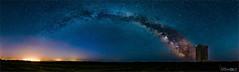 Eire Milkyway (D.A. Lichtbilder) Tags: blue ireland sky panorama tower night stars landscape lights nikon nacht pano cork awesome ngc himmel irland eire ruine d750 20mm greatest fx turm landschaft lichter sterne milkyway youghal 18g milchstrase