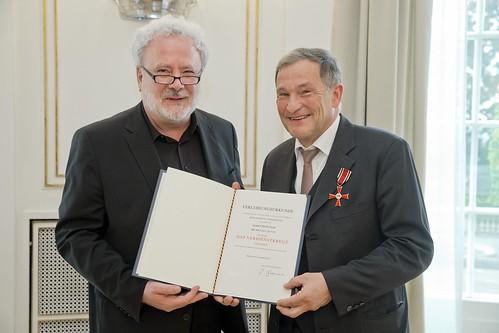 Verdienstkreuz am Bande für Prof. Dr. Michael Quaas