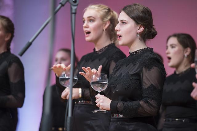 Danish National Girls Choir perform at Presidency Reception