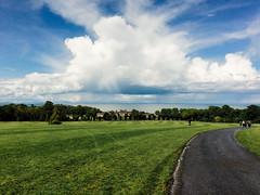 Beautiful clouds (Alena*) Tags: ireland clouds landscape fingal ardgillancastle
