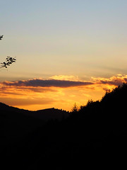 Sunset (monica_maria) Tags: sunset cloud sun mountain nature