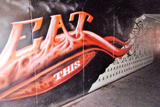 Graffiti Antwerpen Boom