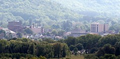 City in a Valley. Olean, NY (William Wilson 1974) Tags: mountains hills valley mountians enchanted olean