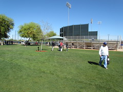 Main Practice Fields at Surprise Stadium -- Surprise, AZ, March 09, 2016 (baseballoogie) Tags: arizona canon baseball stadium az powershot surprise ballpark springtraining royals kansascityroyals cactusleague baseballpark surprisestadium 030916 sx30is canonpowershotssx30is baseball16