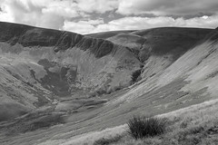 Cautley Spout, Howgill Fells near Sedbergh, Yorkshire Dales National Park, Cumbria, UK (Ministry) Tags: uk monochrome grass waterfall nationalpark beck yorkshire hill valley cumbria scree spout cascade dales crag hareshaw sedbergh howgill howgillfells cautley cautleyspout redgill cautleyholmebeck benend